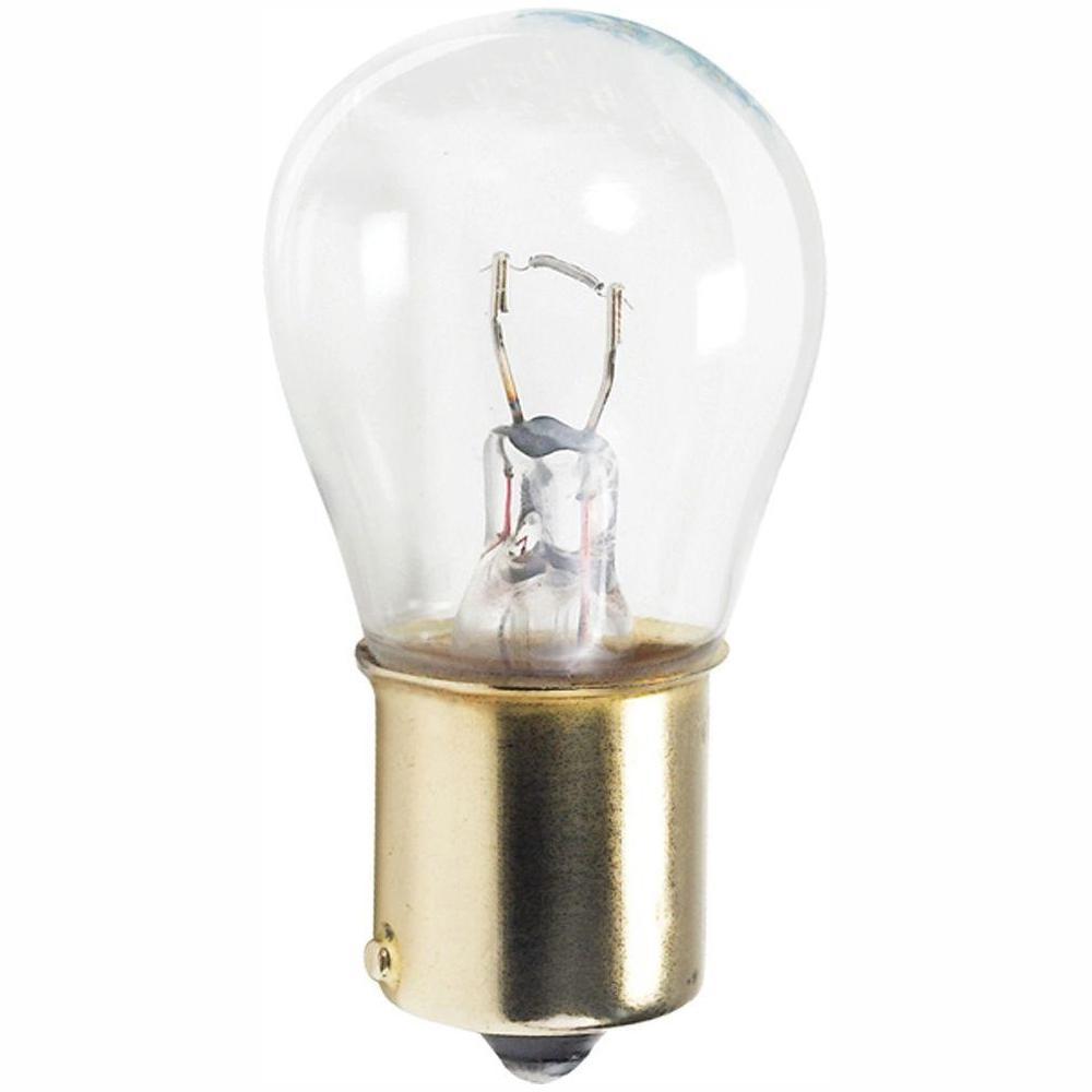 13 Watt Incandescent S8 Appliance Light Bulb 2 Pack