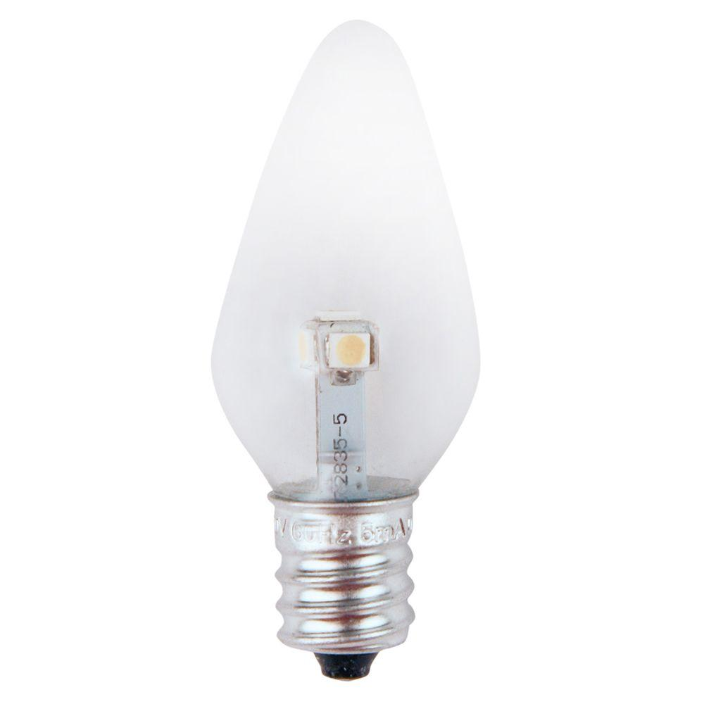 Meridian 7W Equivalent Pure Green Clear-C7 Non-Dimmable