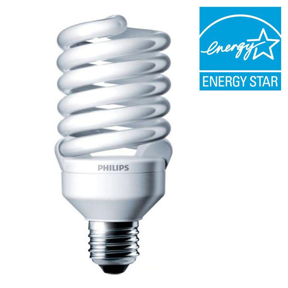 100-Watt Equivalent T2 CFL Light Bulb Daylight (5000K)