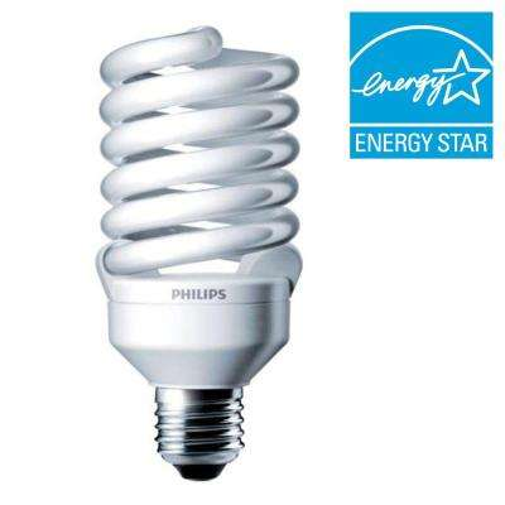 100W Equivalent Daylight (5000K) T2 CFL Light Bulb