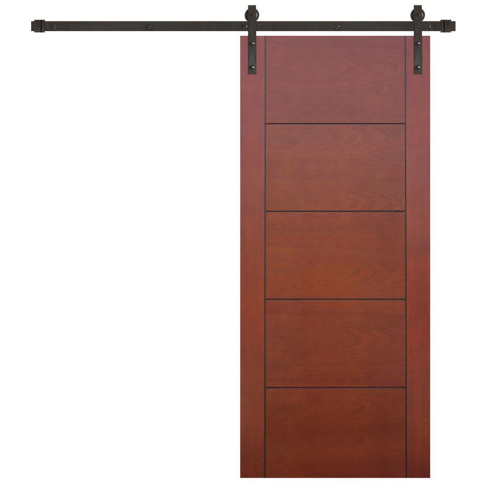 5 Panel Barn Door Kit Barn Doors Interior Closet Doors The