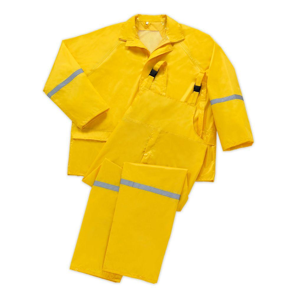 null 3-Piece X-Large Rain Suit