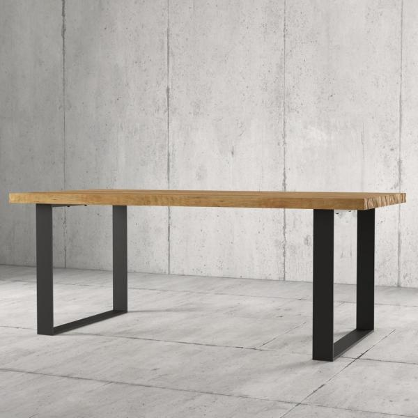 Urban Woodcraft Mabel 78 in. Natural Dining Table 600H.78DT.SM.N