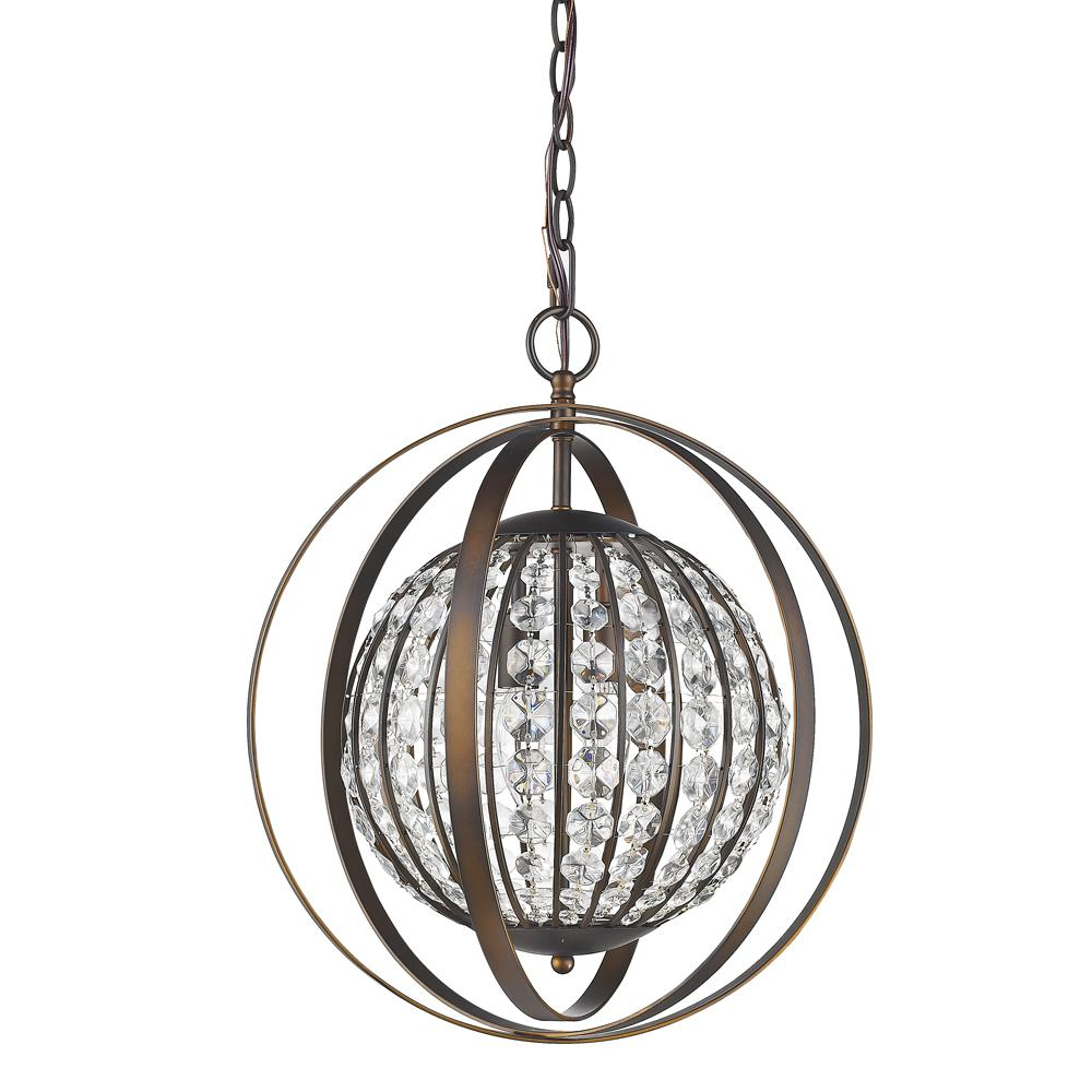 Acclaim Lighting Olivia 1 Light Indoor Oil Rubbed Bronze