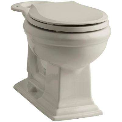 Memoirs Comfort Height Round Front Toilet Bowl Only in Sandbar
