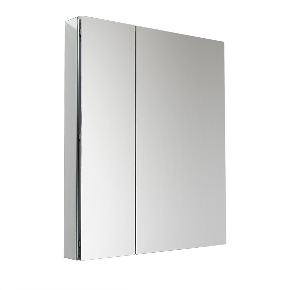 Fresca 30 in. W x 36 in. H x 5 in. D Frameless Recessed or Surface-Mounted Bathroom Medicine Cabinet