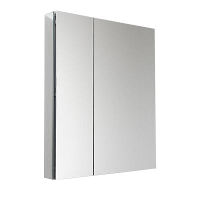 30 in. W x 36 in. H x 5 in. D Frameless Recessed or Surface-Mounted Bathroom Medicine Cabinet