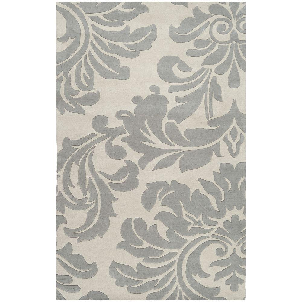 Bellaire Dark Gray 5 ft. x 8 ft. Indoor Area Rug