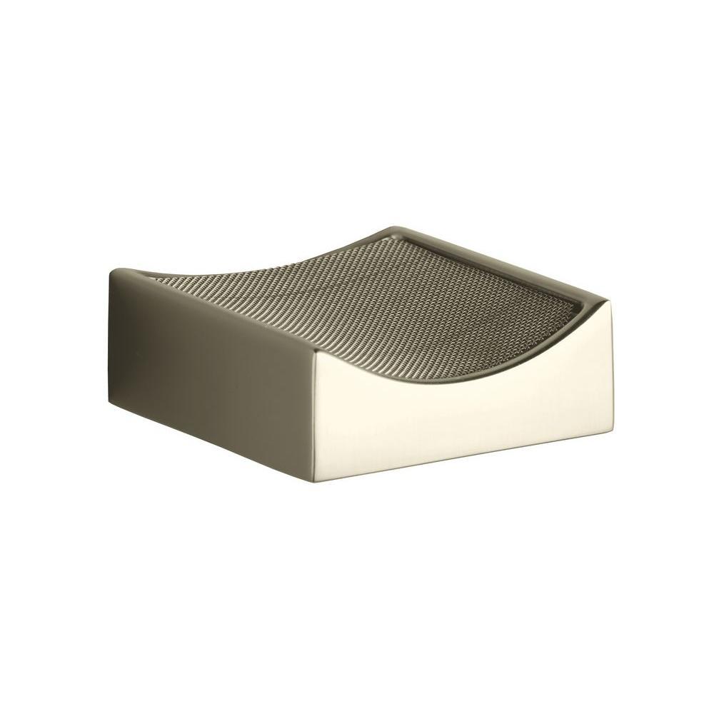Stillness Drip Tray in Vibrant Brushed Nickel