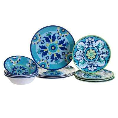 Granada 12-Piece Dinnerware Set
