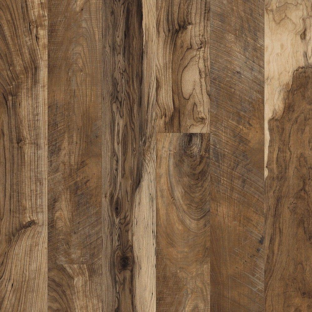 Hampton Bay Maple Grove Natural 12 mm Thick x 6-3/16 in. Wide x 50-1/2 in. Length Laminate Flooring (17.40 sq. ft. / case)