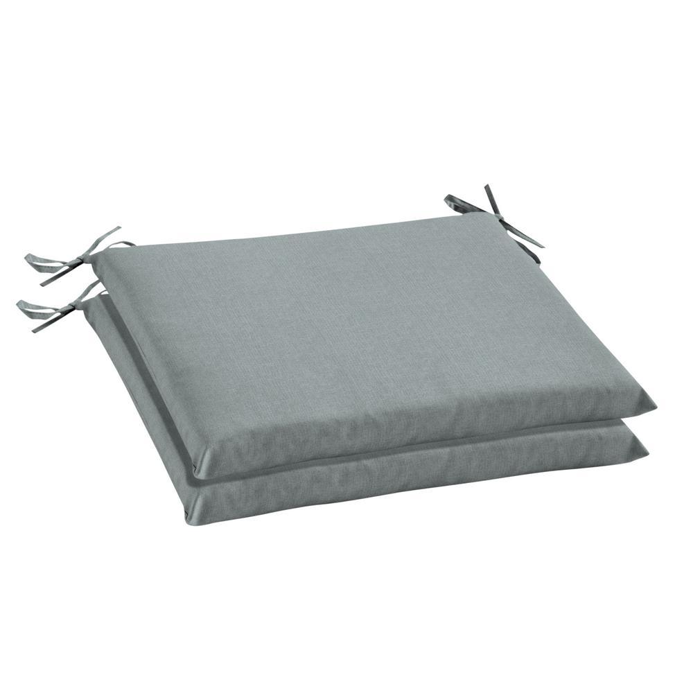 20 x 18 Sunbrella Cast Mist Outdoor Chair Cushion (2-Pack)