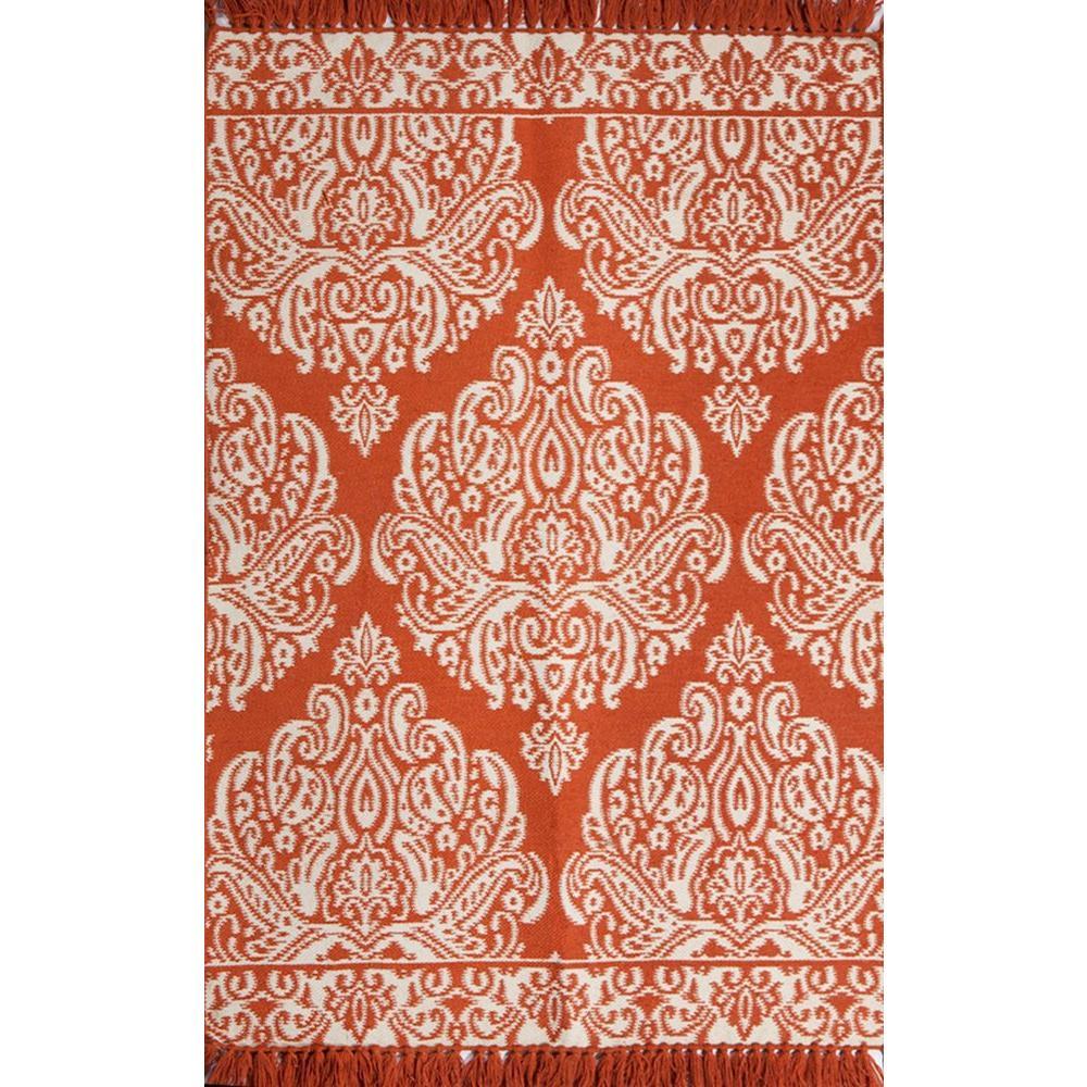 medallion coralcream 8 ft x 10 ft area rug
