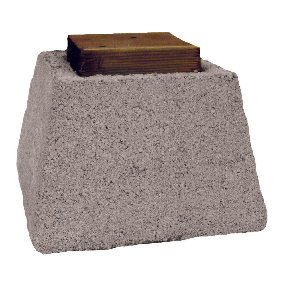 8 3 4 In X 10 3 4 In X 10 3 4 In Concrete Pier Block