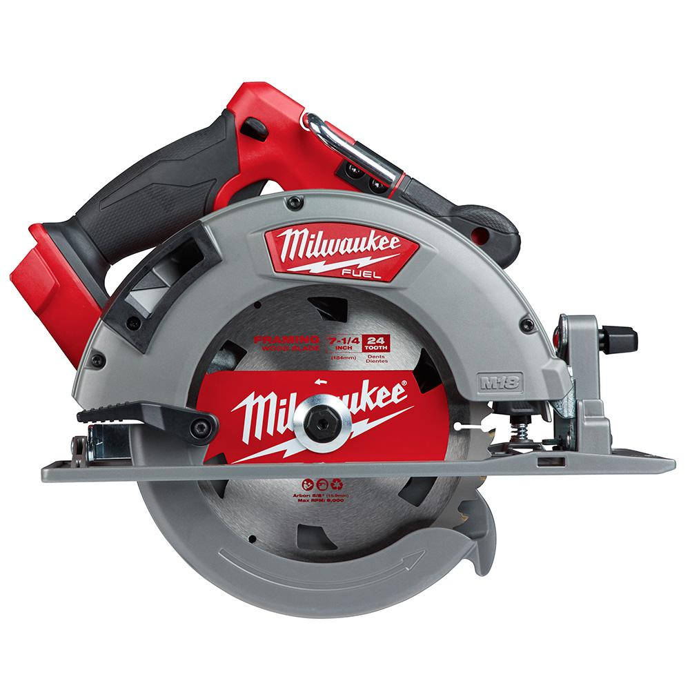 Milwaukee M18 FUEL 18-Volt Lithium-Ion Cordless 7-1/4 in. Circular Saw (Tool-Only)