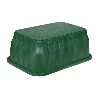 Pro Series 17 in. x 30 in. x 15 in. Valve Box and Bolt-Down Cover - ICV