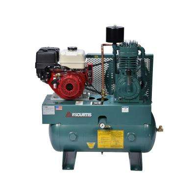 30 Gal. 13 HP Horizontal Gas Air Compressor