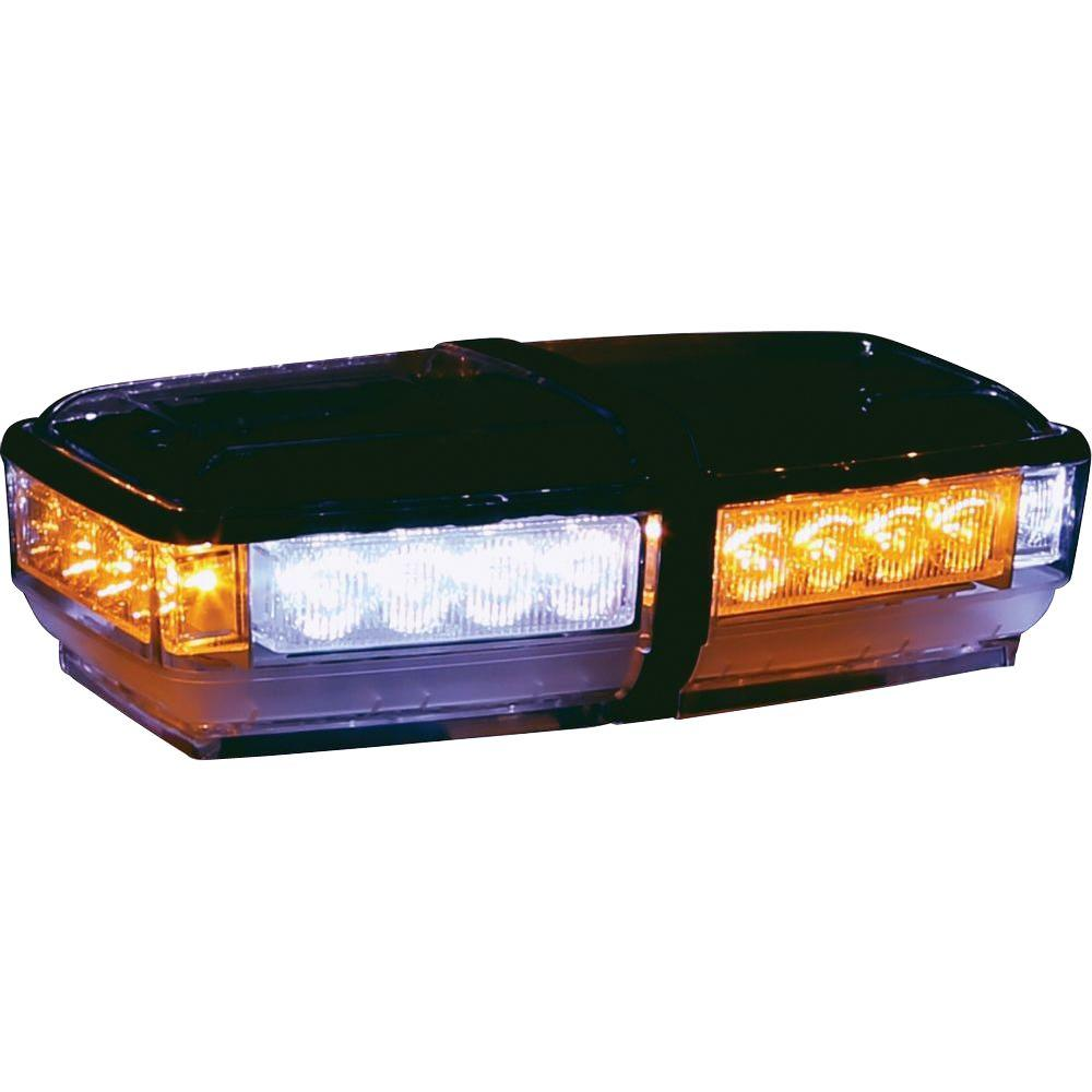 Mini Led Light Bar >> Buyers Products Company Amber Clear Led Rectangular Mini Light Bar
