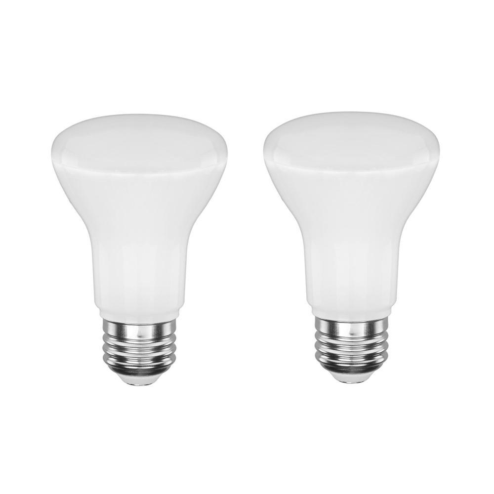 50-Watt Equivalent BR20 Dimmable LED Light Bulb (2-Pack)