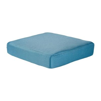 Washed Blue Replacement Cushion for the Martha Stewart Living Charlottetown Outdoor Ottoman