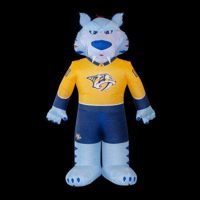 7 ft. Nashville Predators Inflatable Mascot