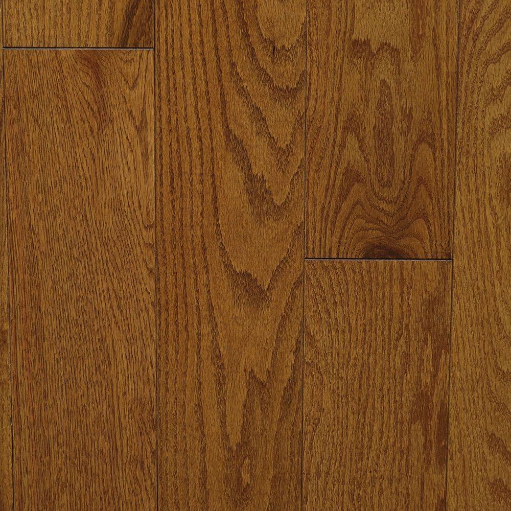 Oak Antique Gunstock 3/4 in. Thick x 5 in. Wide x Random Length Solid Hardwood Flooring (20 sq. ft. / case)