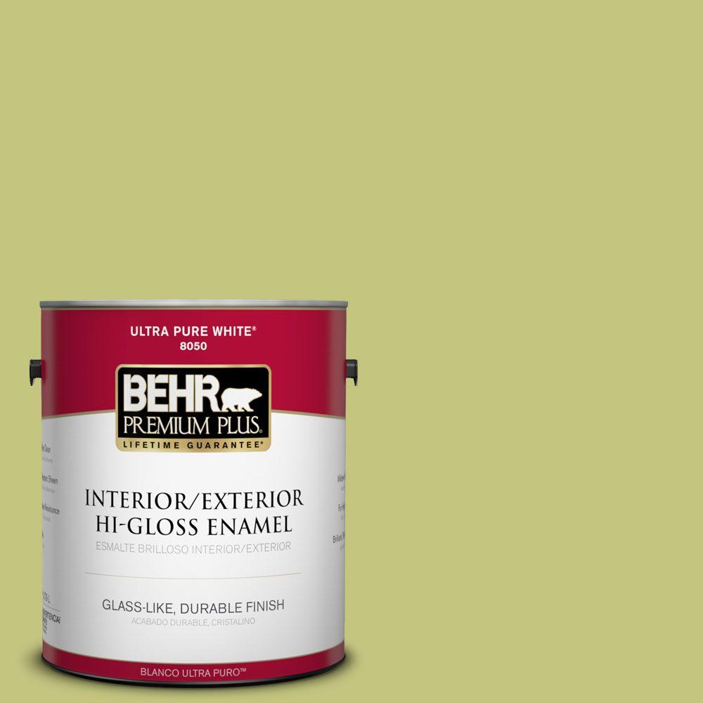 1-gal. #P360-4 Soda Pop Hi-Gloss Enamel Interior/Exterior Paint