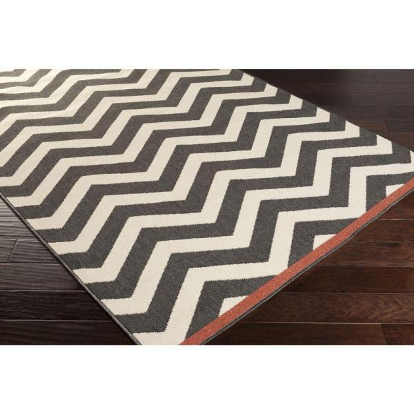Artistic Weavers Brindabella Black 2 Ft X 12 Ft Indoor Outdoor Runner Rug S00151001935 The Home Depot