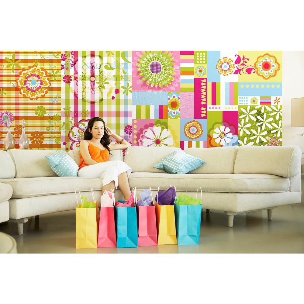 50 in. x 72 in. Mix and Match Wall Mural