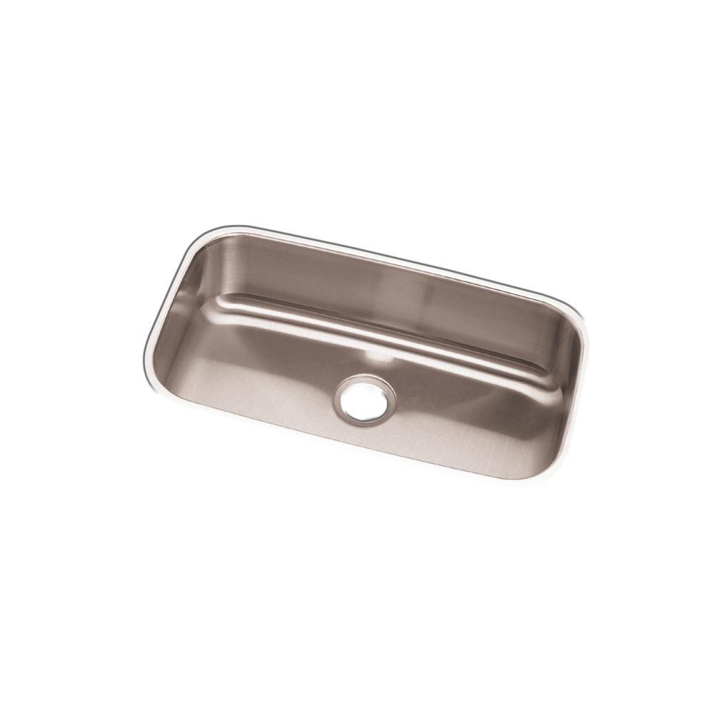 Elkay Dayton Undermount Stainless Steel 31 in. Single Bowl Kitchen ...
