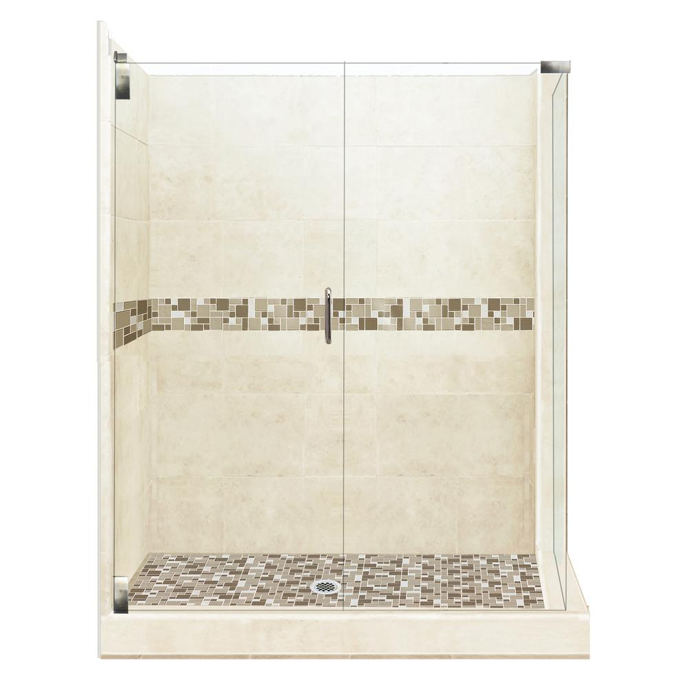 corner shower kits 36 x 36. American Bath Factory Tuscany Grand Hinged 32 in  x 36 80