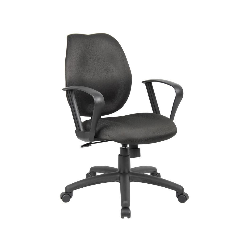 Boss Black Task Chair B1015-BK