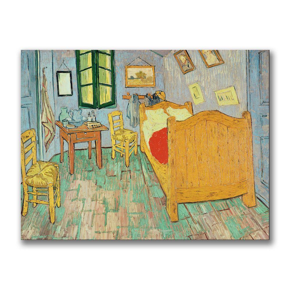 24 in. x 32 in. Van Goghs Bedroom at Arles Canvas Art