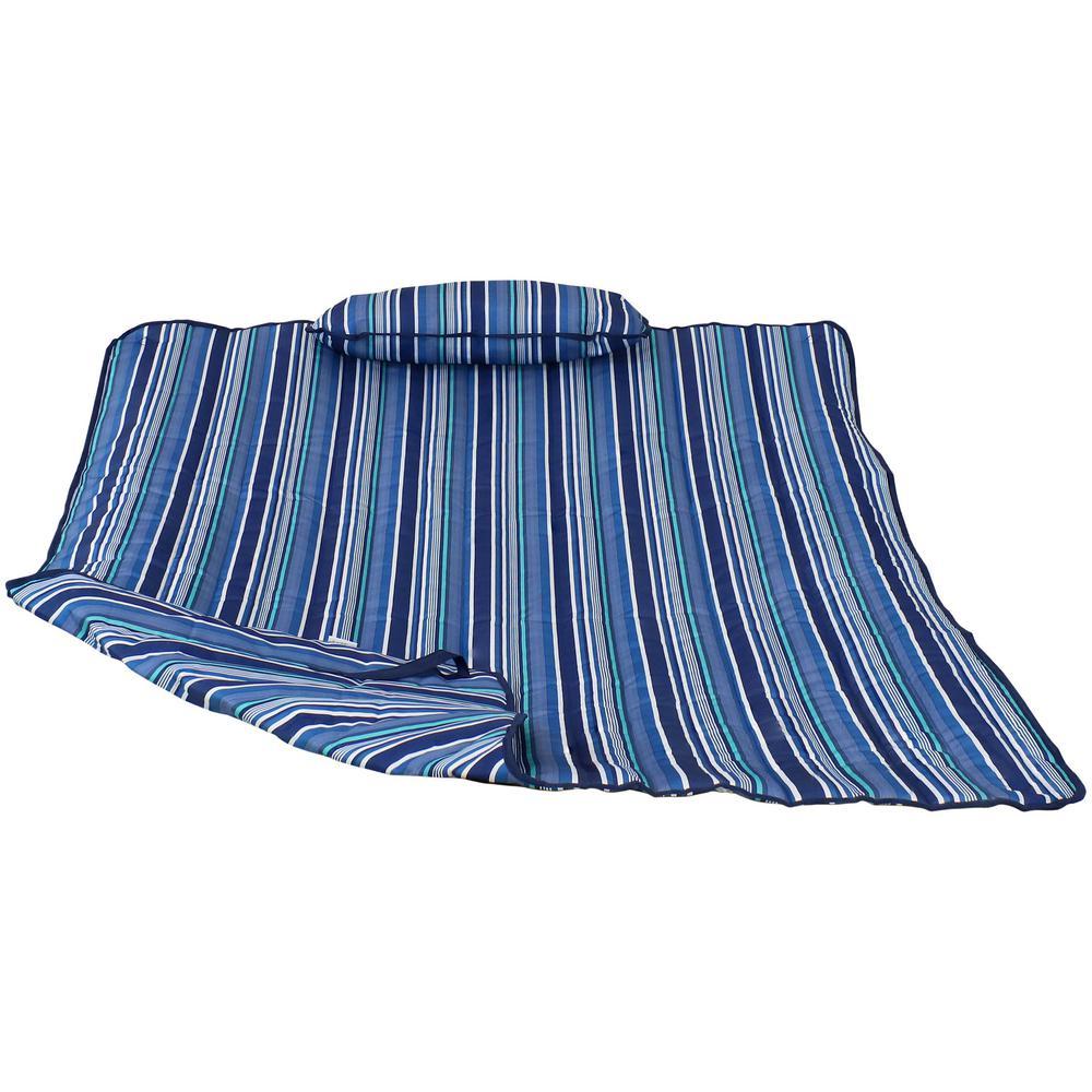 Breakwater Stripe Pad and Pillow