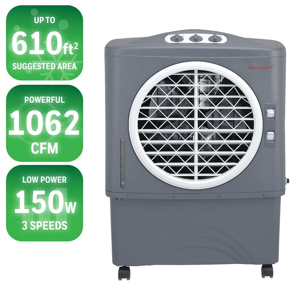 1062 CFM 3-Speed Portable Evaporative Cooler for 610 sq. ft.