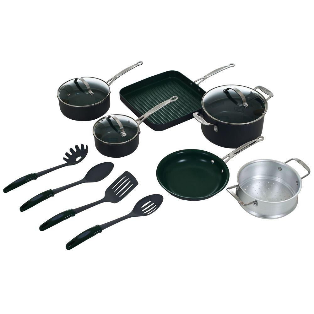 Orgreenic 13-Piece Non Stick Cookware Set-DISCONTINUED