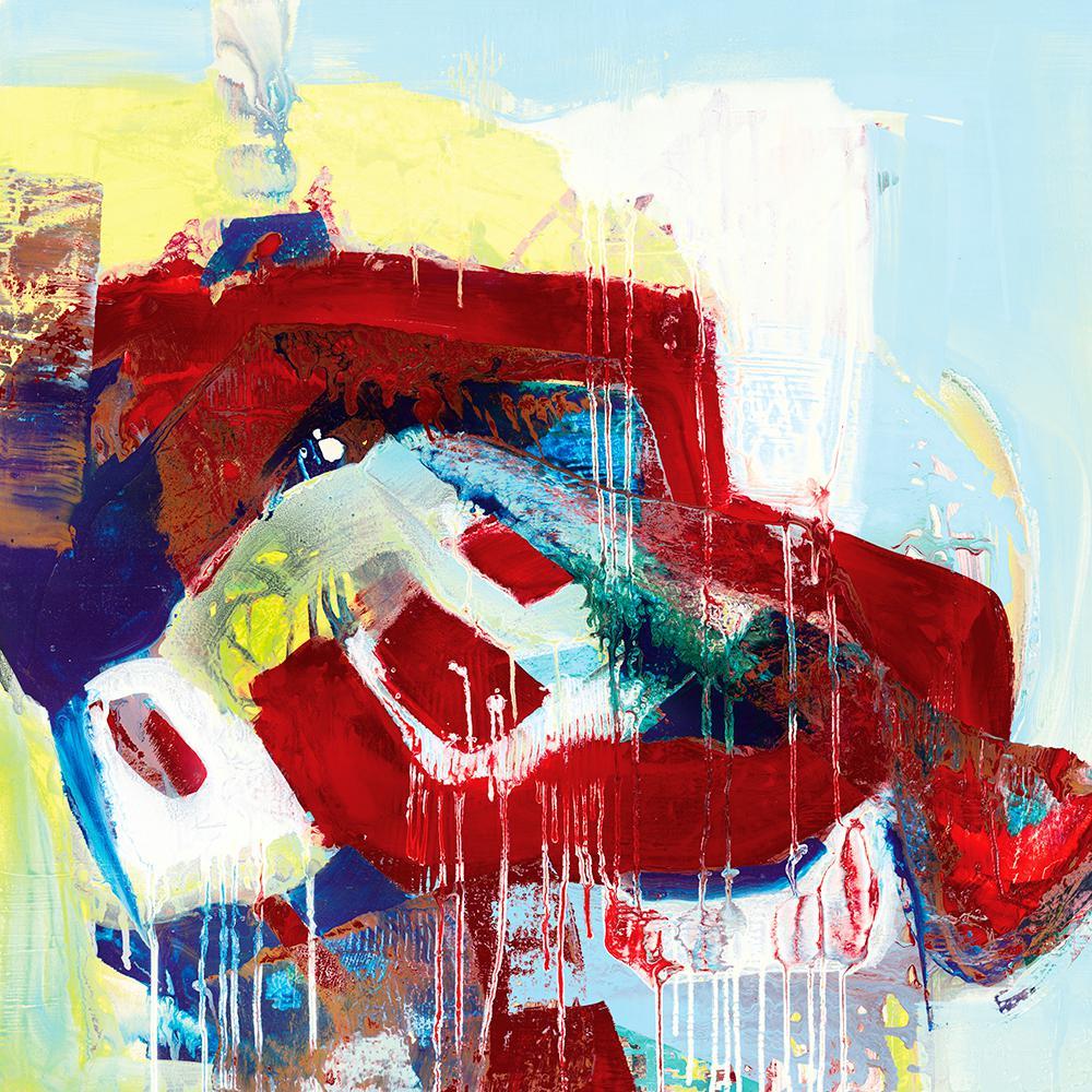 "84 in. x 84 in. ""Kaleidoscopic Days II"" by Bianka Guna Canvas Wall Art"