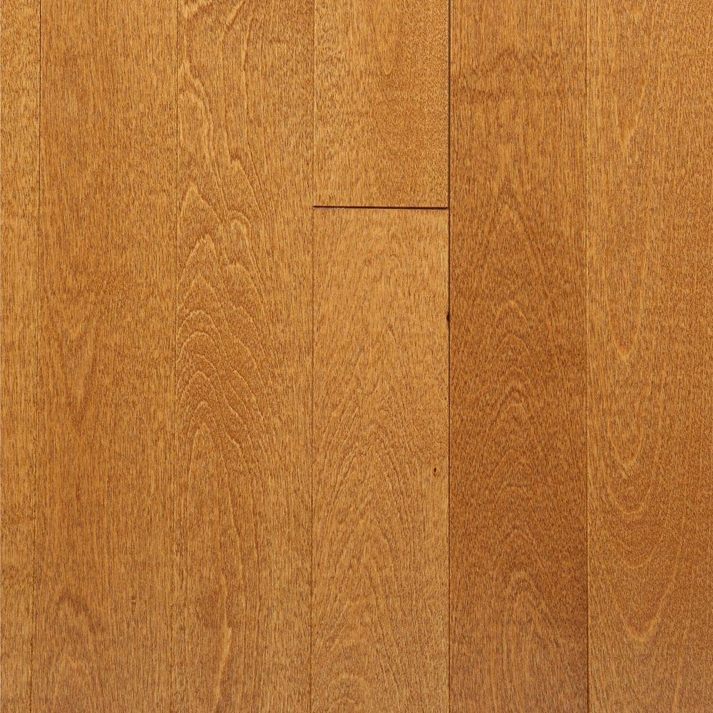 MONO SERRA Take Home Sample - Northern Birch Gunstock Solid Hardwood Flooring - 3-1/4 in. x 4 in.