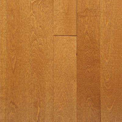 Take Home Sample - Canadian Northern Birch Gunstock Solid Hardwood Flooring - 2-1/4 in. x 4 in.