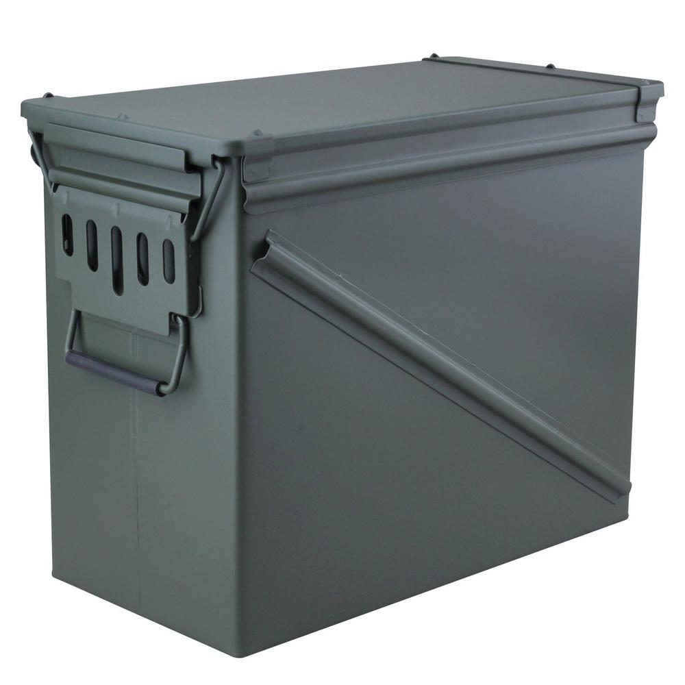 18.5 in. x 9.5 in. Steel Ammo Storage Box in OD