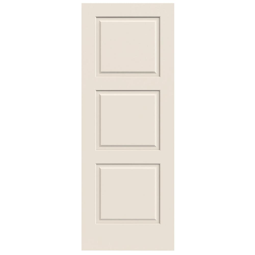 Jeld wen 32 in x 80 in primed c3000 3 panel solid core premium jeld wen 32 in x 80 in primed c3000 3 panel solid core premium composite interior door slab h84760 the home depot planetlyrics Image collections