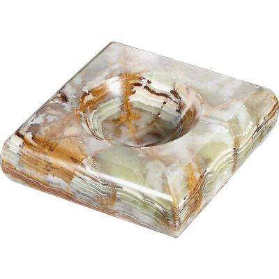 Malachite Onyx Cigarette Ashtray