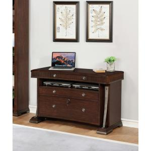 Internet #306181594. Turnkey Products Highland Park Merlot Lateral File  Cabinet