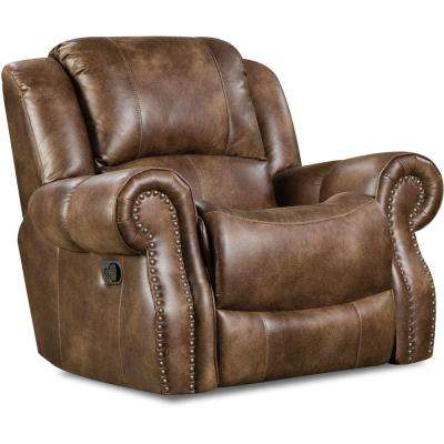 Stratton Chocolate Rocker Recliner