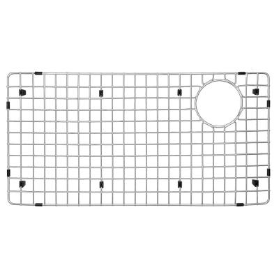 13-3/4 in. x 27-3/4 in. Stainless Steel Bottom Grid fits on QT-722 and QU-722