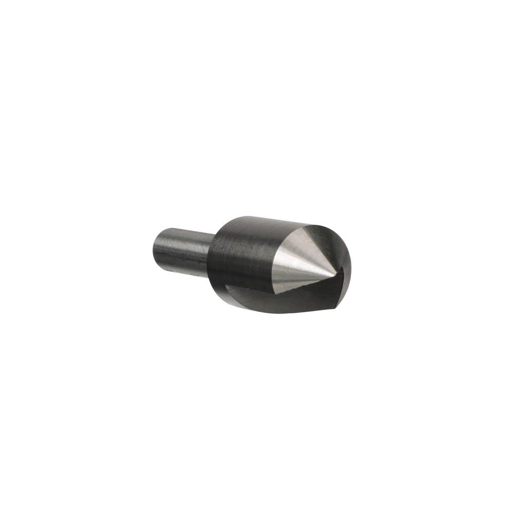 "3//8/"" 100 DEGREE HIGH SPEED STEEL SINGLE FLUTE COUNTERSINK"