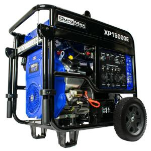 Duromax 12000-Watt Gasoline Powered Portable Generator with Electric Start V-Twin Engine by Duromax
