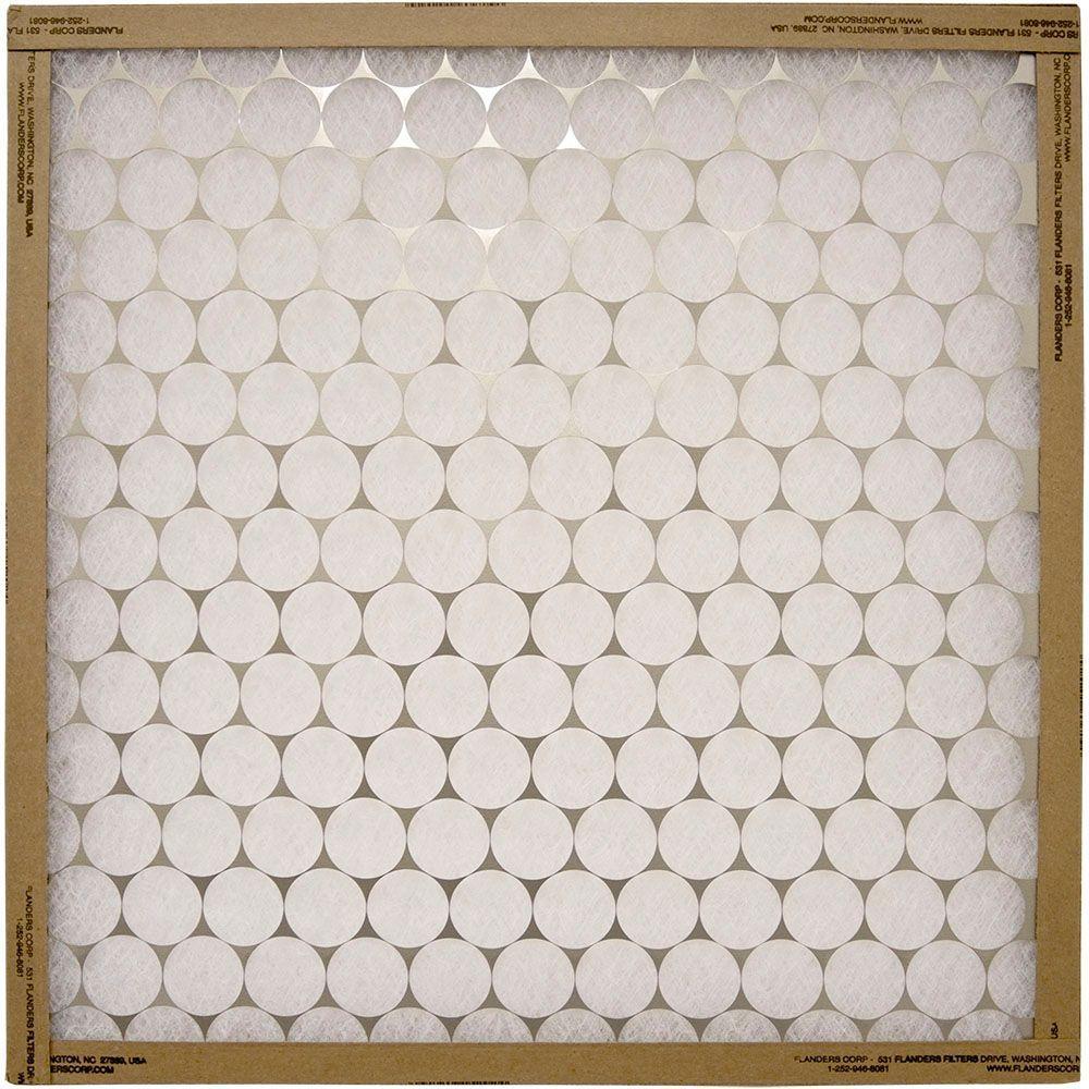 Flanders PrecisionAire 21 in. x 21 in. x 1 in. Metal Fiberglass Air Filter (Case of 12)