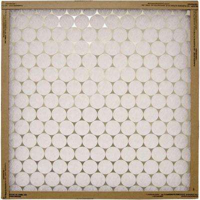 21 in. x 21 in. x 1 in. Metal Fiberglass Air Filter (Case of 12)