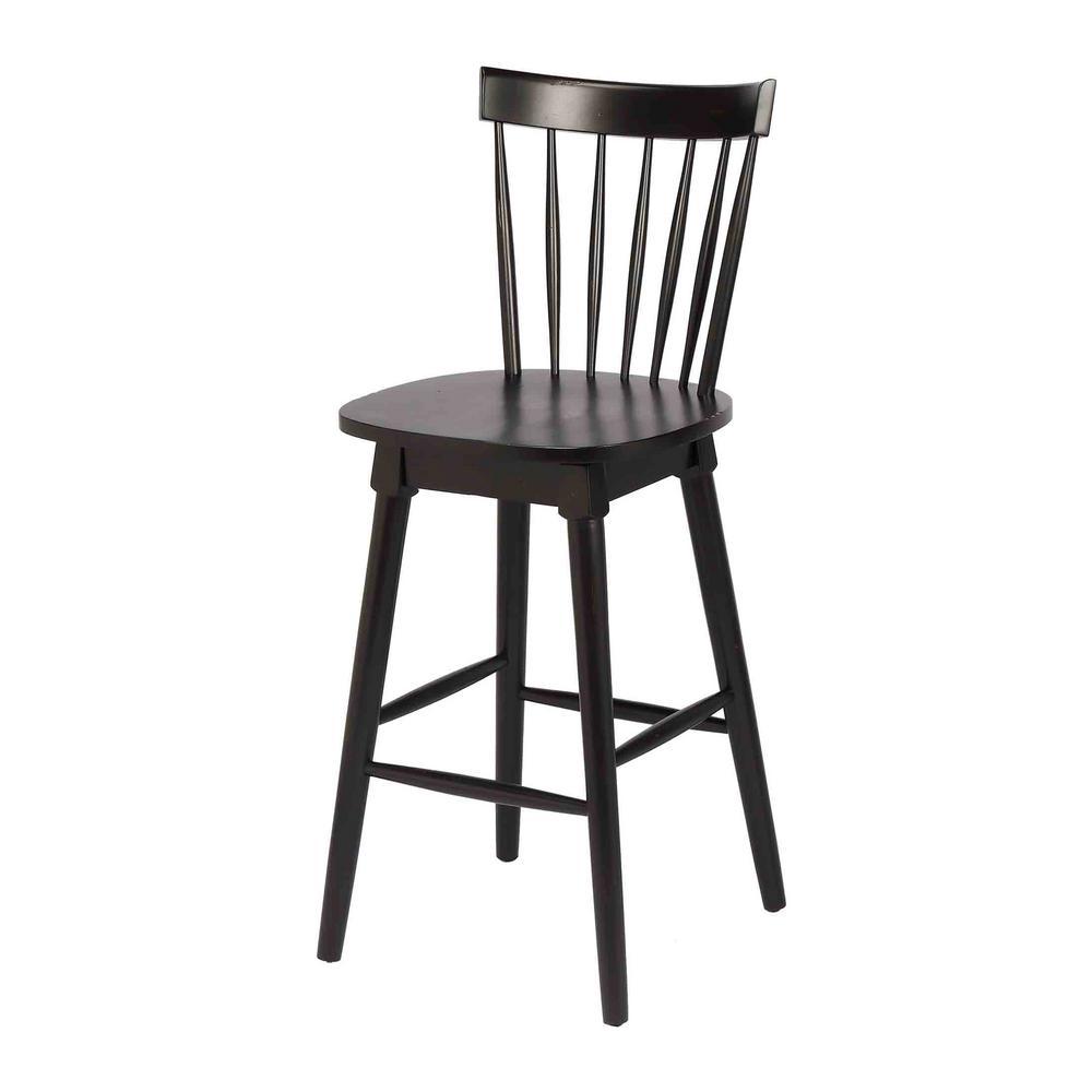Super Craft Main Elise 29 In Black Bar Height Swivel Bar Stool Ncnpc Chair Design For Home Ncnpcorg